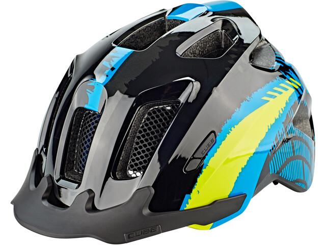 Cube ANT Bike Helmet Children blue/black